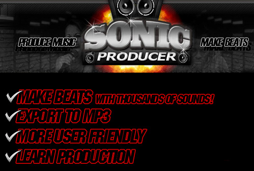 Make Your Own Beats with Sonic Producer
